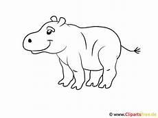 Bilder Zum Ausmalen Malvorlage F 252 R Kleinkinder Hippo