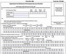 online pan application form download the pan card application form from uti nsdl portal online
