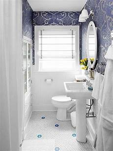 Small Bathroom Ideas Blue And White by 36 Blue And White Bathroom Floor Tile Ideas And Pictures
