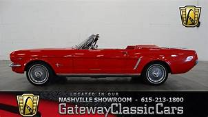1964 1/2 Ford Mustang Convertible  Gateway Classic Cars Of