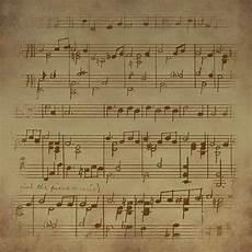 vintage sheet music free image pixabay