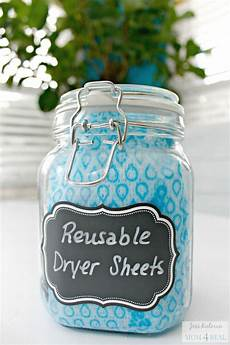 diy reusable dryer sheets mom 4 real