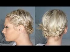 summer side bun braids short or long youtube