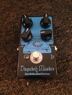 earthquaker dispatch master earthquaker devices dispatch master black blue reverb