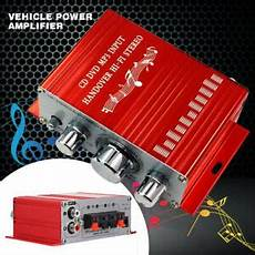 Hy 2001 12v Mini Power Lifier Treble Bass Volume