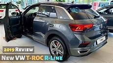 New Vw T Roc R Line 2019 Review Interior Exterior