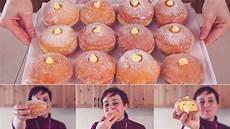 dolci con crema pasticcera fatto in casa da benedetta bomboloni alla crema ricetta facile custard filled donuts easy recipe youtube