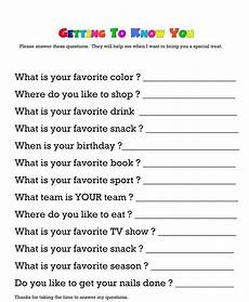 questionnaire for getting to know your child s teacher would teachers really answer these