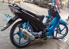 Modifikasi Motor Smash 2005 by Bloominbuckets