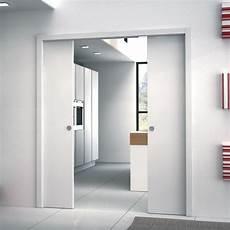 porte interieur a galandage ch 226 ssis pour porte coulissante 224 galandage deux vantaux