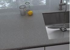 Granit Arbeitsplatte Grau Doppelwaschbecken Stein