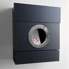 briefkasten mit zeitungsrolle radius radius briefkasten letterman ii schwarz mit