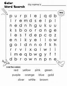 word search worksheets color educative printable english worksheets for kids kindergarten