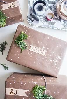 Originelle Geschenkverpackung Basteln - geschenkverpackung personalisieren monogramm auf