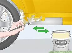how to touch up car paint with pictures wikihow
