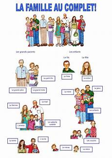 119 best images about fle la famille pinterest family tree worksheet words and