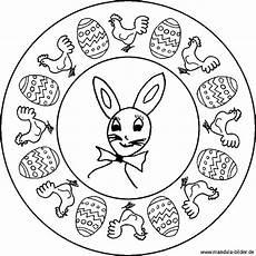 Malvorlage Ostern Mandala Mandala Osterhase Als Kostenlose Malvorlage F 252 R Kinder