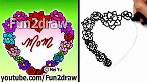 How To Draw A Heart – Rose & Flower Of Love Fun