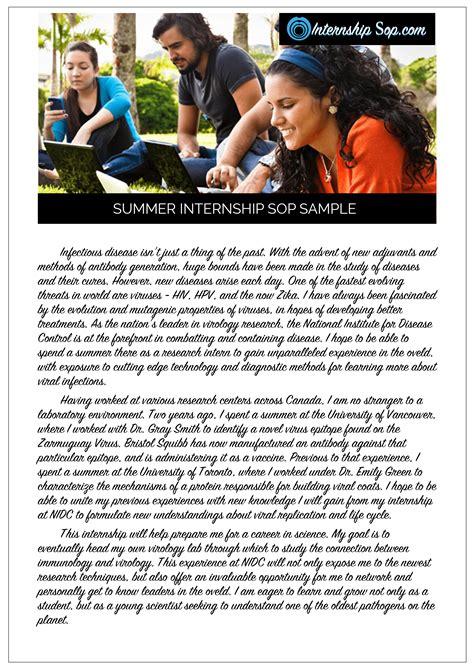 Statement Of Purpose Exchange Student Example