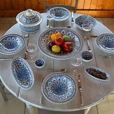 vaisselle orientale pas cher service assiette orientale design en image