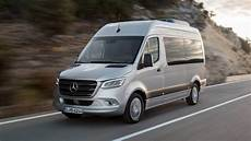 All New 2018 Mercedes Sprinter Debuts In Many Shapes