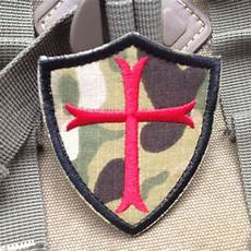 camo knights templar cross shield military morale embroidered patch ebay