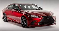 2019 lexus es custom concept has a wine cellar in its trunk carscoops