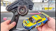 rc car audi r8 gets unboxed tuned and tested kyosho mini