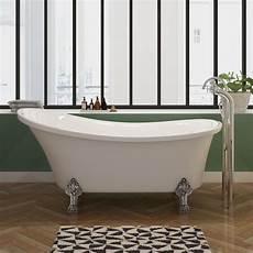 baignoire pied de baignoire 238 lot 160 cm sur pieds baignoire 224 pattes