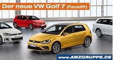 Der Neue Vw Golf 7 Facelift Ab April 2017 Amzgruppe