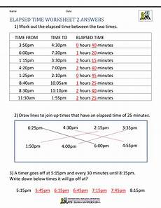 time worksheet calculator 2948 elapsed time worksheets