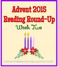 story time secrets advent reading up week two