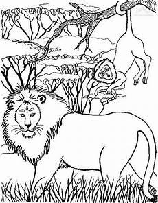 Ausmalbilder Tiere Afrika Ausmalbilder Afrika Malvorlage Gratis
