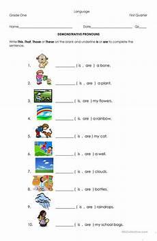 related image demonstrative pronouns pronoun worksheets worksheets