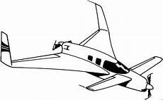 Ausmalbilder Flugzeuge Malvorlagen Flugzeug Propeller Vorne Hinte Ausmalbild Malvorlage