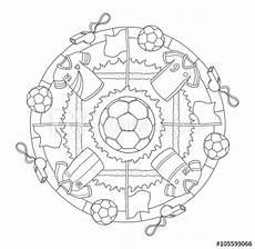 Malvorlage Mandala Fussball Quot Mandala Fu 223 Quot Stockfotos Und Lizenzfreie Bilder Auf