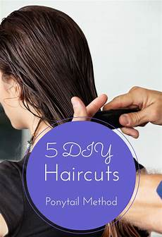 5 quick and easy diy ponytail haircuts top