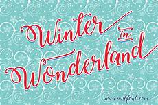 winter calligraphy by fonts font bundles