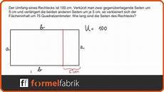 gleichungssystem seitenl 228 ngen eines rechtecks bestimmen