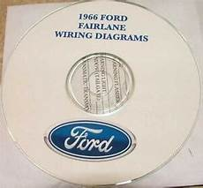 headlight switch wiring diagram 1966 fairlane 1966 ford fairlane wiring diagram manual on cd ebay