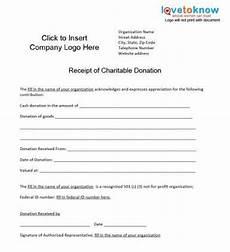 501c3 donation receipt template business