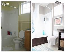 small bathroom makeovers before and after cheap bathroom