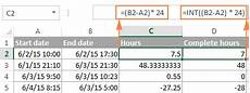 calculate time in excel time difference add subtract