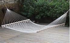 amaca in legno giardini re amaca a rete doppia con asse in legno cm