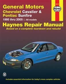 how to download repair manuals 1995 pontiac sunfire head up display chevrolet cavalier pontiac sunfire haynes repair manual 1995 2005 youshare