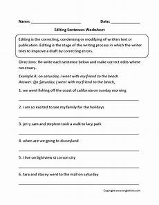 free printable proofreading worksheet verd tense printable worksheets and activities for
