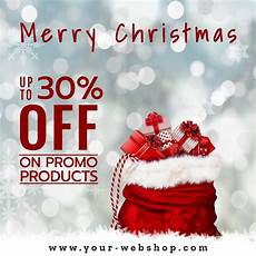 merry christmas holiday discount instagram mediamodifier