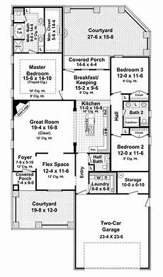 french provincial style house plans house plan 59159 french country style with 2000 sq ft 3