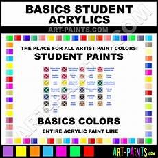 basics student acrylic paint colors basics student paint colors student color student
