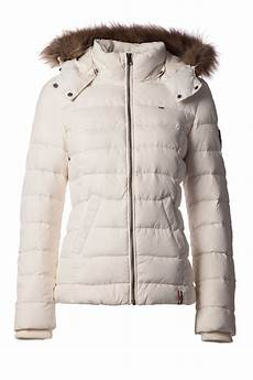 hilfiger martina bomber jacket in white lyst